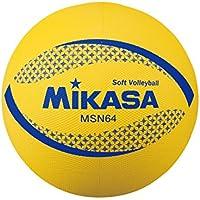 ミカサ ソフトバレー円周64㎝ 約150g 黄 MSN64-Y [並行輸入品]