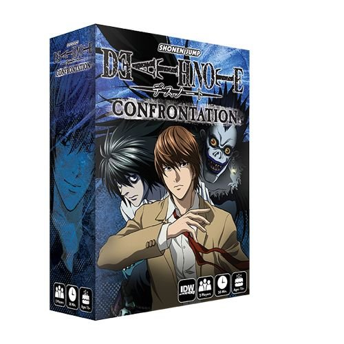 IDWゲームDeath Note : Confrontation戦略ボードゲーム