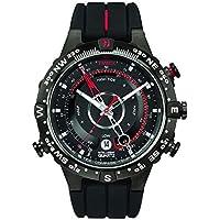 Timex Men's T2N720 Year-Round Smart Quartz Black Watch
