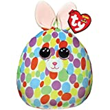 """Ty UK Ltd 39301 Bloomy Bunny Easter Squishaboo 10"""" Easter-Squish-A-Boo-10, Multicoloured"""