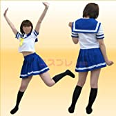 【激安 コスプレ】らき☆すた陵桜学園制服セーラー服(夏) Sサイズ z24