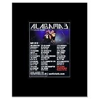 ALABAMA 3 - UK Tour 2010 Mini Poster - 13.5x10cm