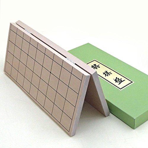将棋セット 人気の特選将棋駒と新桂5号折将棋盤