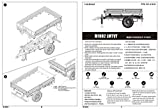 トランペッター 1/35 M1082 LMTV トレーラー プラモデル
