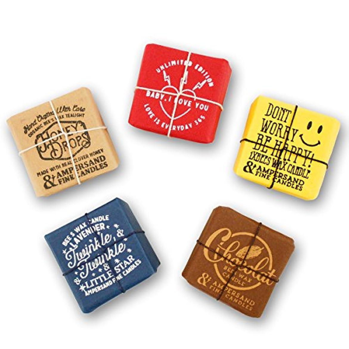 シソーラスぼろ憂鬱Ampersand Fine Candles(アンパサンド ファイン キャンドル)キャンドル ルームフレグランス ASingle Bees [ 5type ] アロマ ギフト オーガニック OS,Chocolate