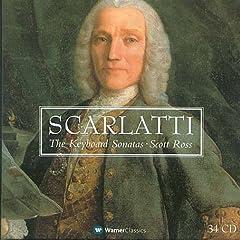 スコット・ロス独奏 スカルラッティ:ソナタ全集の商品写真