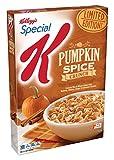 ケロッグ スペシャル K カボチャ スパイス穀物クランチ 12.4 オンス Kellogg's Special K Pumpkin Spice Crunch Cereal 12.4oz