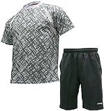 [ケイパ] ランニングウェア 上下セット ドライ Tシャツ ジャージ ハーフパンツ メンズ
