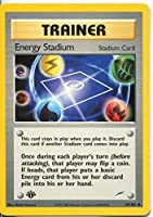 Pokemon Neo Destiny 1st Edition Uncommon Card #99/105 Energy Stadium