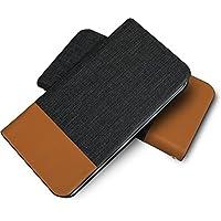 ファーウェイ GS02 手帳型ケース 牛革 本革 高級 PU レザー 磁気カードの磁気不良防止機構 マグネットなし GS 02 ツートン ジーエス