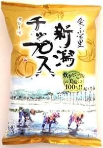 新潟堂 愛・ふる里 新潟チップス カレー味 100g