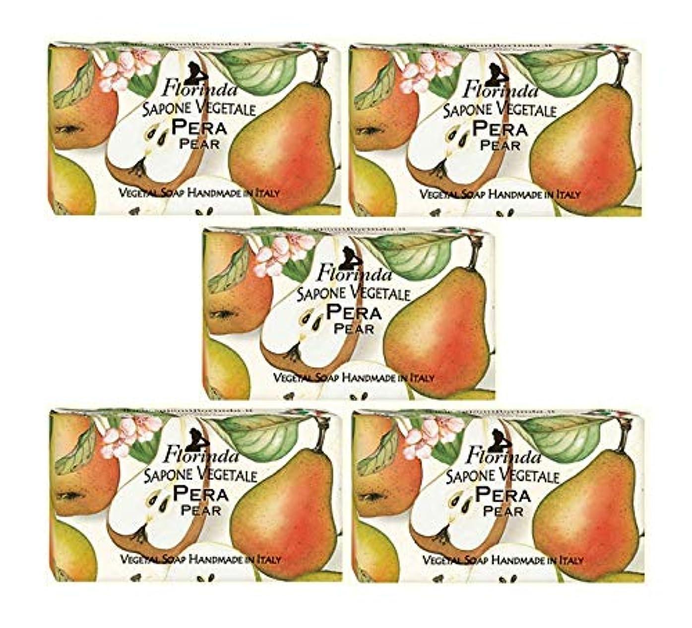荒れ地期限切れ合体フロリンダ フレグランスソープ 固形石けん フルーツの香り ペア 95g×5個セット