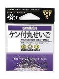 がまかつ(Gamakatsu) ケン付丸セイゴ 白 12号