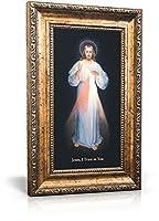 Divine Mercy (Vilnius) - Framed Canvas 6 x 11 【Creative Arts】 [並行輸入品]