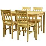 タマリビング ダイニングテーブル 5点セット パイン ナチュラル 50001551
