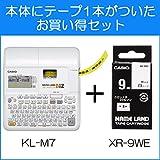 カシオ ラベルライター ネームランド KL-TF7 スタンダードモデルテープ付セット 画像