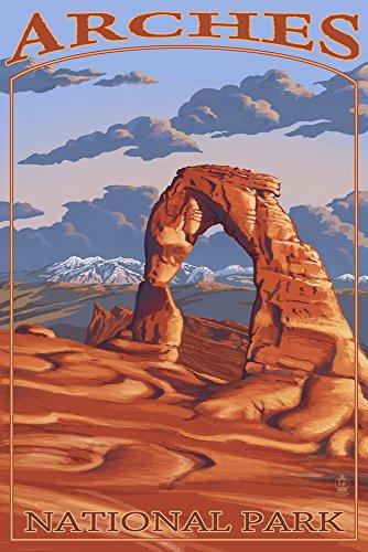 アーチーズ国立公園、ユタ州–Delicate Arch 24 x 36 ...