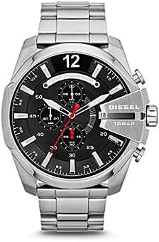 ecd8c3b32b Diesel 腕時計 MEGA CHIEF DZ4308 メンズ [並行輸入品]