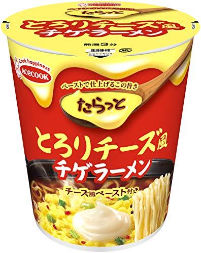 たらっととろりチーズ風チゲラーメンの通販の画像