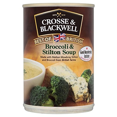 (Crosse & Blackwell (クロス・アンド・ブラックウェル)) 英国のブロッコリー&スティルトン400グラムの最高 (x2) - Crosse & Blackwell Best of British Broccoli & Stilton 40