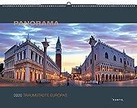 Traumstaedte Europa 2020: Panorama-Wandkalender
