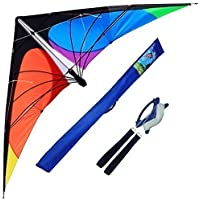 Hengda Kite-Delta stunt kite for Kids and Adults70-Inch outdoor sportsBeach and Fun sport kite [並行輸入品]