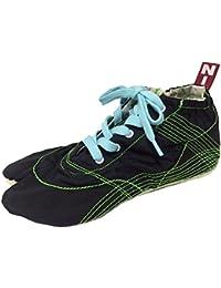 [無敵]MUTEKI 【ランニング足袋】伝統職人の匠技が創り出すランニングシューズ《黒》