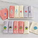 BrylanehomeフローラルWashcloths ,セットof 6 09601840318mk0~0 - Best Reviews Guide
