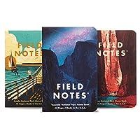 【限定】FIELD NOTES フィールドノートメモブック 3-PACKS NATIONAL PARKS (A) [FB127]