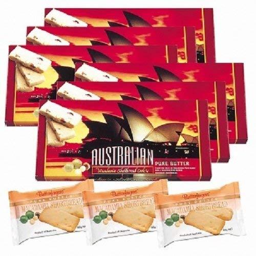 オペラハウス マカデミアナッツ ショートブレッド 6箱セット【オーストラリア 海外土産 輸入食品 スイーツ 】】