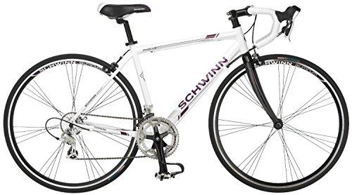 Schwinn シュウィン ウーマンズ PHOCUS 1600 700C ドロップバー ロードバイク ホワイト 16インチ【並行輸入品】+NONOKUROオリジナルグッズ
