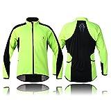 Best Wolfbikeサイクリングジャケット - WOLFBIKE Fleece Thermal Cycling Jacket Long Sleeve Jersey Review