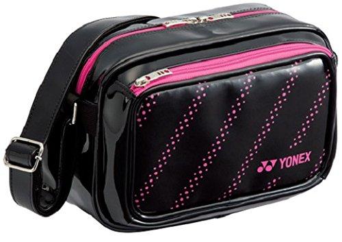 ヨネックス(YONEX) テニス エナメルバッグS  BAG17EB ブラック×ローズピンク(747)