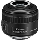Canon EF-S 35mm f/2.8 is STM Macro Lens with Macro liteLens,Black(EFS3528M)