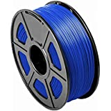 CC DIY PLA 3D Printer Filament Dimensional Accuracy +/- 0.02 mm 1kg Spool 1.75 mm Suits Most 3D Printers Tevo Tarantuala CR10 Mendel Prusa and More, Also Suitable for Most 3D pens (Blue)