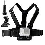 TEKCAM Adjustable Chest Harness Mount with J Hook Mount for DBPOWER / GeekPro/Riorand/ASX ActionPro/ANART/Lightdow/Icefox Action Sports Outdoor cameras accessories. [並行輸入品]