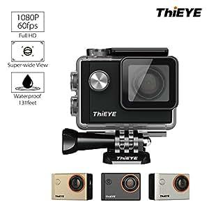ThiEYE I60 1080P 60FPS Wi-Fi 防水 アクションカメラ 戸外カメラ
