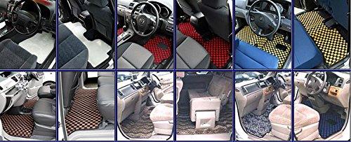 ZEROフロアマット フロアマット マツダ MPV スーパーリラックスシート専用 H20/1~ LY3P用 クーガー BISON GRAY ヒールパッド付