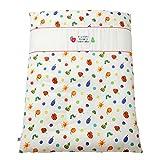 baby.e-sleep(ベビーイースリープ) はらぺこあおむしダブルガーゼ掛カバー 日本製 102×128cm