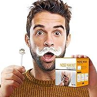 鼻ワックス鼻ヘアワックスキット男性と女性の鼻脱毛ワックス安全な先端アプリケータ迅速かつ無痛50g ワックス20ワックスアプリケータ10ノーズワックスポッド