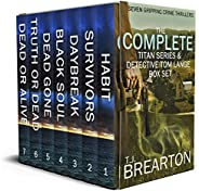 THE COMPLETE TITAN SERIES & DETECTIVE TOM LANGE BOX SET seven gripping crime thril