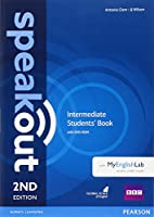 Speakout (2E) Intermediate Course Book with DVD-ROM and MyLab Access