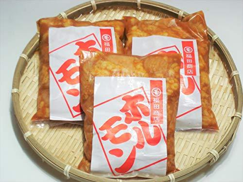 福田商店 越前あわらのホルモン屋 牛味噌ホルモン 400g×3袋