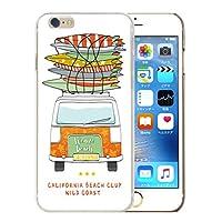 301-sanmaruichi- iPhone8Plus ケース iPhone8Plus ケース iPhone8Plus ケース ハードケース おしゃれ サーフバス ヴィンテージカー ハワイ アロハ サーフ アメリカン ビンテージ レトロ ペア A