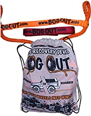 BOG Out Single Vehicle Recovery Kit - Turns Wheels INTO WINCHES - Mud, Sand & Snow Works Forwards and Reve