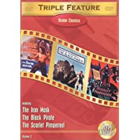 Drama Classics Triple Feature, Vol. 2 (The Black Pirate / The Scarlet Pimpernel (1934) / The Iron Mask)