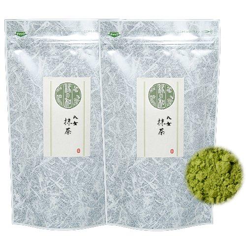 抹茶 お抹茶 お薄 稽古用 お菓子用 料理用に (八女抹茶 80g×2)