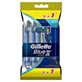 Gillette Blue II Plus Disposable Razors, 6ct
