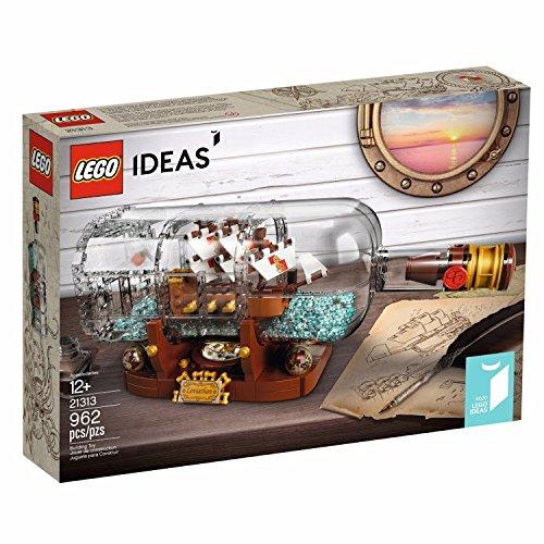 レゴ (LEGO) アイデア ボトルシップ Ship in ...