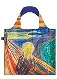EDVARD MUNCH, Scream. Bag: LOQI Ich wiege 55 g. kann 20 kg tragen. bin wasserabweisend und waschbar. OEKO-TEX® zertifiziert aus Polyester. ローキー GmbH EM.SC.CO